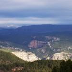Vista del paisaje