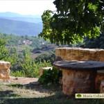 Vista de la casa Collado