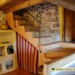 Escaleras casa Regina
